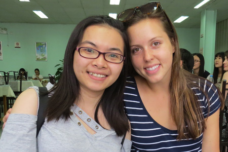 Megan Maxwell and Vicky Chan